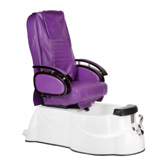 BR-3820D Fotel Pedicure SPA Fioletowy
