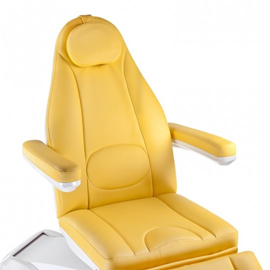 Mazaro BR-6672B Elektryczny fotel kosmetyczny Miodowy