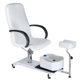 BW-100 Fotel do pedicure Biały