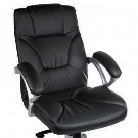 BX-5786 Fotel biurowy Czarny