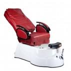 BR-3820D Fotel Pedicure SPA Bordowy