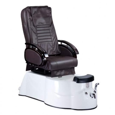 BR-3820D Fotel Pedicure SPA Brązowy