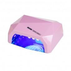 Lampa LED DIAMOND 36W Różowa