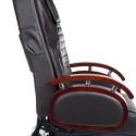Fotel do pedicure z masażem BR-2307 Brązowy