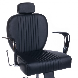 Fotel barberski OLAF Czarny