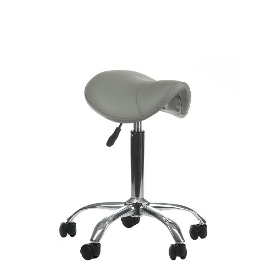 BD-9909 Taboret RODEO Szary