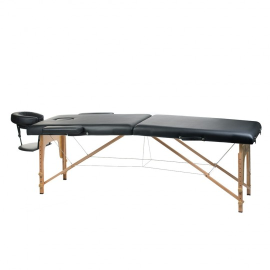 BS-523 Stół do masażu i rehabilitacji Czarny