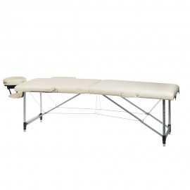BS-723 Stół do masażu i rehabilitacji Kremowy