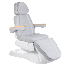 Fotel kosmetyczny LUX BW-273B Jasny Szary