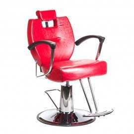 Fotel barberski HEKTOR BH-3208 Czerwony