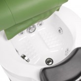 BR-3820D Fotel Pedicure SPA Zielony
